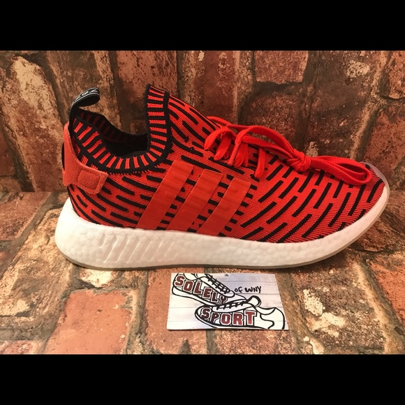 d9c002b4f Adidas NMD R2 PK Red Ultra Boots Mens Shoes